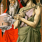 Alvise Vivarini – Saint John the Baptist and Saint Jerome, Part 1