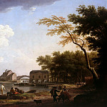 Claude Joseph Vernet – View of the Seine at Nogent, Part 1