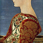 Part 1 - Antonio del Pollaiuolo (1431-1498) - Profile portrait of a young woman