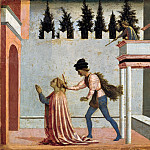 Part 1 - Domenico Veneziano (c.1410-1461) - The Martyrdom of St. Lucia