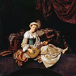 Part 1 - Cornelis Bega (1631-1664) - The Lute Player