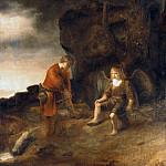 Abraham van Dijck – Tobias and the Angel, Part 1