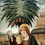 Part 1 - Venetian school (c.1500) - The Rest on the Flight to Egypt