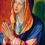 Part 1 - Albrecht Durer (1471-1528) - Praying Mary