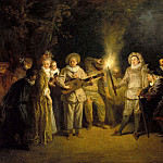 Part 1 - Antoine Watteau (1684-1721) - The Italian comedy