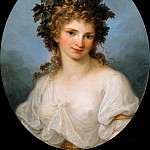 Part 1 - Angelica Kauffmann (1741-1807) - Bacchante (Self Portrait)