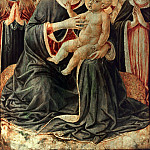 The Virgin and Child and Saints Mary Magdalene and Martha, Benozzo Gozzoli