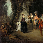 Antoine Watteau – The French Comedy, Part 1