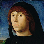 Part 1 - Antonello da Messina (c.1430-1479) - Portrait of a Young Man