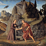 Domenico Ghirlandaio – Meeting the young Christ and John the Baptist, Part 1