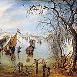 Adriaen van de Venne – The winter, Part 1