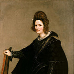 Part 1 - Diego Velazquez (1599 - 1660) - Portrait of a Lady