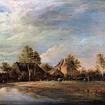 David Teniers II – Landscape with fishermen, Part 1