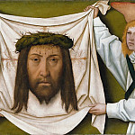 Part 1 - Bartholomaus Zeitblom (1455-60-1518-22) - The Sudarium of Saint Veronica held two angels
