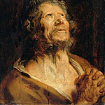 Apostle with folded hands, Anthony Van Dyck