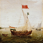 Part 1 - Aert Anthonisz (1580-1620) - Seascape with sailboats