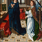 Aelbrecht Bouts – The Annunciation, Part 1