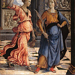 Domenico Ghirlandaio – Judith with her ​​maid, Part 1