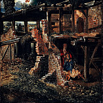 The Nativity, Albrecht Altdorfer