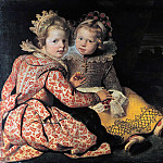 Cornelis de Vos – Magdalena and Jean-Baptist de Vos, the children of the painter, Part 1
