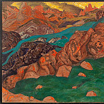 Red Mountain, Roerich N.K. (Part 2)
