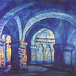 Roerich N.K. (Part 2) - Courtyard