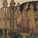 Roerich N.K. (Part 2) - Crowd (Scene seven figures in costumes)