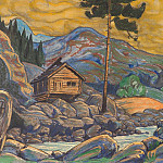 Hut in the mountains, Roerich N.K. (Part 2)