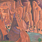 Roerich N.K. (Part 3) - Caves in the rocks. NM