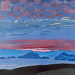 Northern sunset, Roerich N.K. (Part 2)