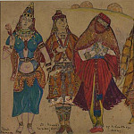 Roerich N.K. (Part 2) - Costume (Polovchanka and Indian dancer)