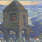 Roerich N.K. (Part 6) - Nightingale robber (decorative panels)
