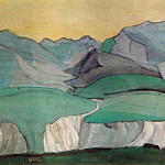 Roerich N.K. (Part 2) - Caucasus (Blue mountains)