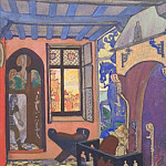 Roerich N.K. (Part 2) - King room Gialmara (Act III, scene 1)