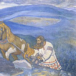 Roerich N.K. (Part 4) - Mikula Selyaninovich (decorative panels)
