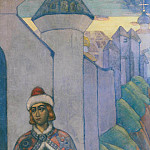 Roerich N.K. (Part 2) - Knight (decorative panels)