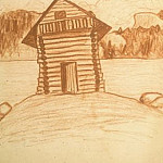 Roerich N.K. (Part 2) - Hut (sketch)