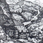 Roerich N.K. (Part 1) - Mill in the mountains (Copyright repeat)