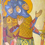 Roerich N.K. (Part 2) - Teens saints (holy warriors)