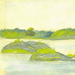 Roerich N.K. (Part 2) - The islets on the lake