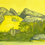 Roerich N.K. (Part 2) - Coastal cliffs