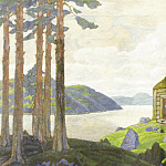 Roerich N.K. (Part 2) - Landscape with chapel