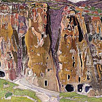 Roerich N.K. (Part 2) - Caves in the rocks (Cliff Dwellings)