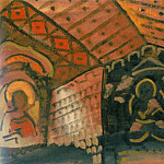 Roerich N.K. (Part 2) - Church interior (sketch)