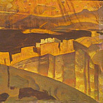 Roerich N.K. (Part 2) - White House Ruins in Canyon de Chelly National Monument (the White House Ruins in Canyon de Shay)