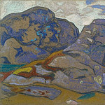 Roerich N.K. (Part 2) - Northern landscape. Sketch