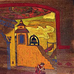 Roerich N.K. (Part 2) - Palace in candies (curtain sketch)