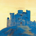 Roerich N.K. (Part 2) - Castle. Sketch of the painting