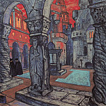 Roerich N.K. (Part 2) - The courtyard