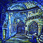Roerich N.K. (Part 2) - In convent (sketch, initial version)